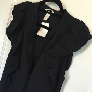 H&M Black Maxi Dress, Size 10, NWT